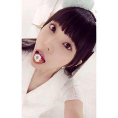"""相沢梨紗 Risa Aizawa on Instagram: """"ミント味🌱たぬたべた🍬 . . . #たぬきゅんエキスポ2017 #tanuqn #たぬきゅん #ねむきゅん #りさちー #dempagumi #nemuyumemi #risaaizawa #japan #tokyo #idol #mintgreen #でんぱ組"""""""