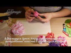 Видео мастер-класс: делаем реалистичный пион из фоамирана - Ярмарка Мастеров - ручная работа, handmade
