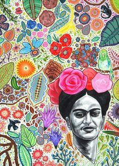 Frida by Jade Illustrates