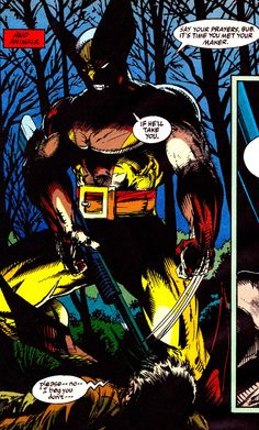 WOLVERINE (April 1991) by Todd McFarlane Marvel Comic Character, Marvel Characters, Character Art, Wolverine Cosplay, Logan Wolverine, Hq Marvel, Marvel Comics Art, Comic Book Heroes, Comic Books Art