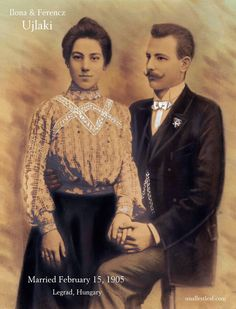 100 Years in America: Winter Wednesday Wedding: The 110th Anniversary of Ferencz & Ilona Ujlaki #genealogy