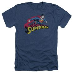 Superman: Flying Over Heather T-Shirt