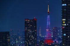TOKYO TOWER / 東京タワー クリスマス・ライトダウンストーリー