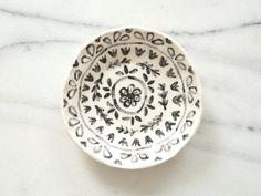 Ceramic trinket dish by leahgoren on Etsy