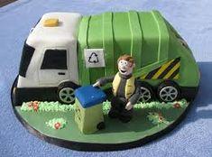 Imagini pentru crane truck birthday cake pinterest