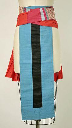 Apron   Date: 20th century    Culture: Thai (Hmong)   Medium: cotton