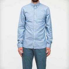 Washed Classic Chambray Shirt by Apolis