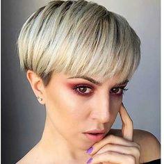 Short Blonde Hairstyles 2017 - 13