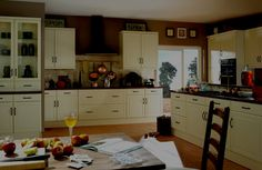 Natural Kitchen Design Ideas Cream Cabinets 2014 Wallpaper