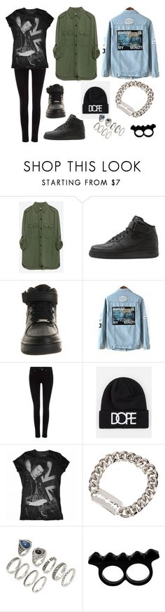 """Evie #10"" by eviewillowmeyer on Polyvore featuring moda, Zara, NIKE, Maison Scotch, Dope, McQ by Alexander McQueen, Forever 21 e L'Artisan Créateur"