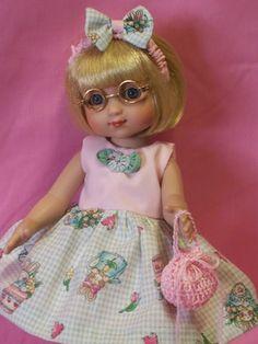 """BABY BUNNY Doll Dress For Ann Estelle 10"""" Tonner"""
