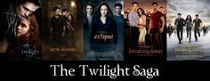 The Twilight Saga - All 5 Posters