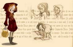 le petit chaperon rouge-cappuccetto rosso  http://valetanto.blogspot.fr/