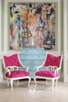 MS Design Maven: Birds of a Feather Part III of III (My Inner Gypsy).   I love the bold color