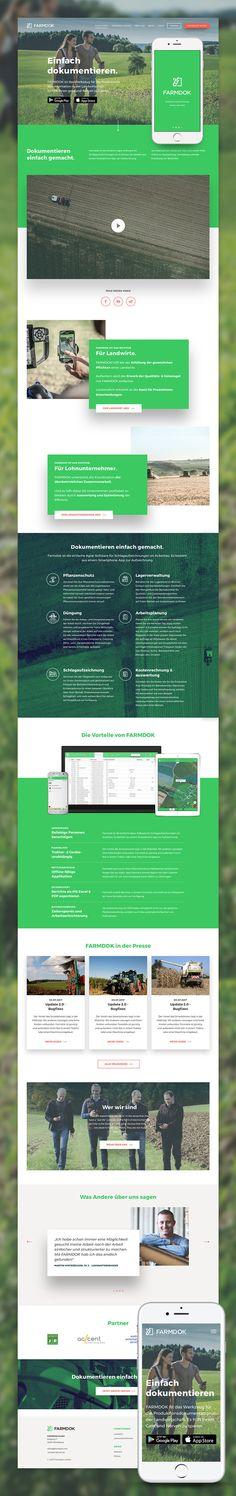 Konzept, Design und Umsetzung der multiregionalen Website für das niederösterreichische AGTECH Start-up. Website Designs, Filters, Up, Concept, Design Websites, Website Layout, Web Design, Design Web