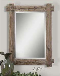 Uttermost Claudio Wood Mirror (07635)