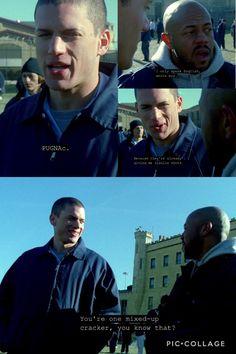 Prison break. Michael Scofield