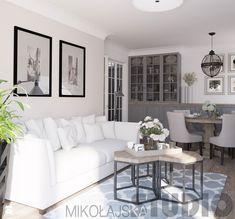 salon w stylu nowojorskim - zdjęcie od MIKOŁAJSKAstudio - homebook