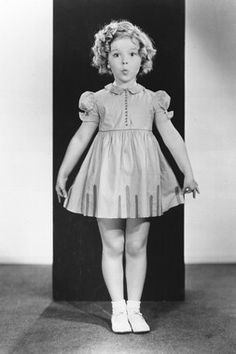 Shirley Temple. Loved watching her old movies on TV on Sunday afternoons.