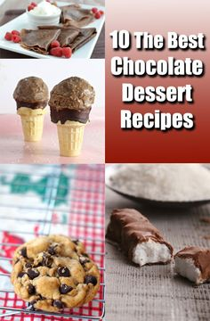 We gathered our favorite collections of chocolate recipes all in one place. Chocolate chip cookies, brownies, chocolate cake recipes and more.