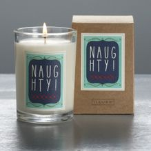 Naughty candle. Fun holiday gift!