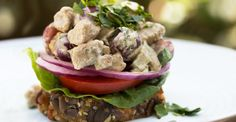 Paleo Chicken Salad, A Fruity Picnic Favorite with Grapes!