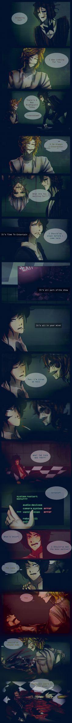 .: Lost [FNaF AU Comic] Page 7 :. by Ailurophile-Chan