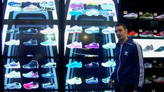 Intel's Virtual Footwear Wall for Adidas Turns Boutiques Into Shoe-topias [Video] | Fast Company