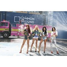 SISTAR mean business in hot new teaser photos for 'Shake It' ❤ liked on Polyvore featuring sistar