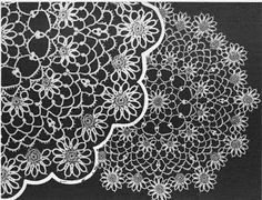Tatted Daisy Doily - link repaired 12/7/12