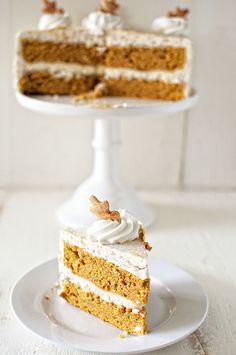 Brown Butter Pumpkin Pie Layer Cake