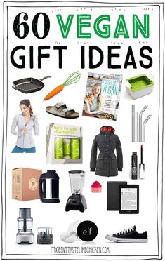 Whether you are vegan or shopping for a vegan, this vegan gift guide will help you find the perfect present. Vegan Hampers, Vegan Books, Best Vegan Recipes, Vegan Meals, Vegan Shopping, Vegan Gifts, Vegan Christmas, Vegan Fashion, Vegan Beauty