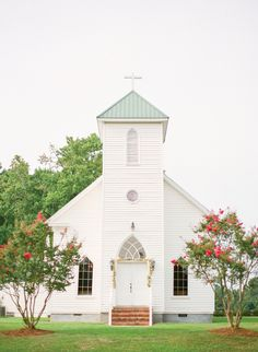 sweet Southern church | KT Merry #wedding