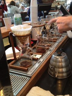 Single pour coffee - good stuff!
