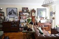 Warm, Creative & Eclectic Style in Brooklyn — Video House Tour