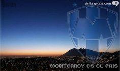 Así amanece Monterrey.