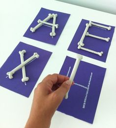 Alphabet Skeleton Bones