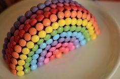 gateau arc en ciel enfant anniversaire (3) Macaron, Sprinkles, Candy, Delaware, Moment, Bow, Checkered Cake, Arch, Longbow