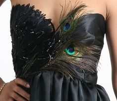 peacock dress- love this!! @Haley Jo prom??