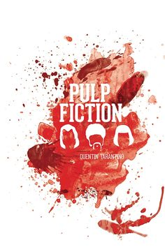 Pulp Fiction - movie poster - Sam Russell