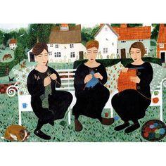 Dee Nickerson, Village Knitters