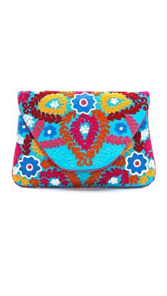 It always makes me feel better that the items sold out, since I couldn't afford it anyway :( MOYNA Large Flower Embroidered Clutch