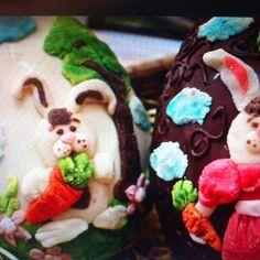 #pascua #chocolatedealtacalidad #conejito #mazapáncasero huevosdepascua