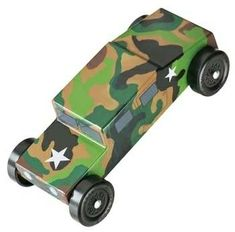 CKRC Hobbies has - Revell Pinewood Derby Military Racer Kit This is the Pinewood Derby® Military Racer Kit from Revell. Suitable for Ages 8 & Older. FEATURES Build your own winning racer Star Tiger Scouts, Cub Scouts, Tow Mater, Sports Drawings, Pinewood Derby Cars, Woodworking Projects For Kids, Cars Birthday Parties, Roller Derby, Disney Cars