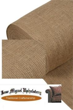 """Upholstery Hessian Jute 10oz 72"""" (182) cm By the metre - for memo boards, banners etc (check prices)"""
