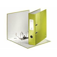 Leitz Qualitäts-Ordner 180° WOW Auffälliger Ordner in leuchtenden WOW Farben in Duo-Optik. Die laminierte Oberfläche verleiht dem Ordner ein glänzendes, hochwertiges Design. Die patentierte 180°-Präzisionsmechanik ermöglicht effizientes Arbeiten.