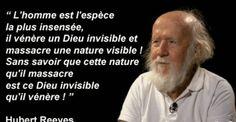 Rosaelle: Dieu et la Nature: citation attribuée et vraie citation d'Hubert Reeves