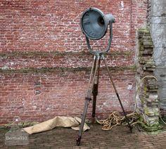 Stoere industriële lamp Industrial, vintage