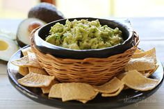 Guacamole -  It's flavorful, clean, and healthy, but we eat it because we love it. #weightwatchers