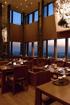 When the elevator inside the sleek Park Hyatt Tokyo whisks you to the atrium lounge with a panorama of Shinjuku through floor-to ceiling windows, you'll be smitten. It's a #Fodors100 Hotel Awards winner in the Sleek City Addresses category.